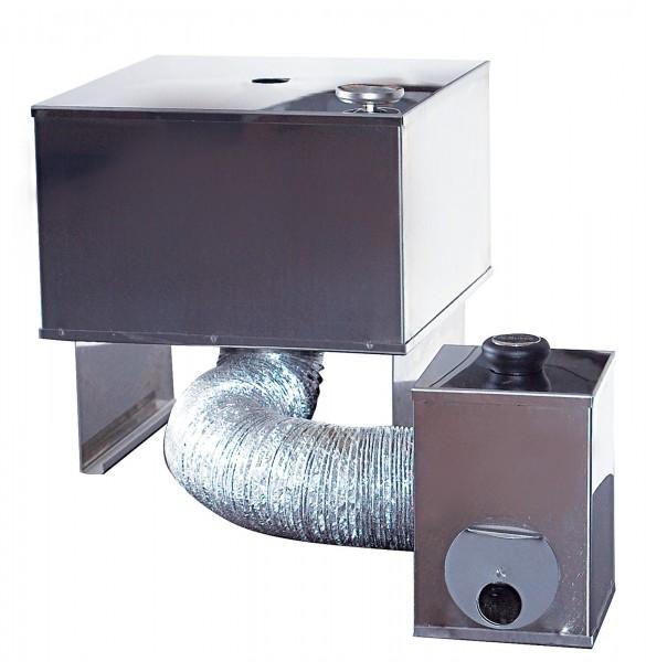 Brennkammer zu Räucherofen