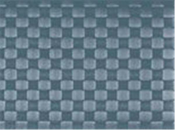 PP-Tischset gewebt, eckig, graublau, 30x40 cm