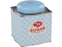 Zuckerdose, blau