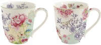 Chinoiserie 2er Set Porzellanbecher 300 ml in GB
