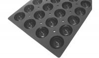 Moul Flex Pro Backform GN 1/1 für 18 Halbkugeln