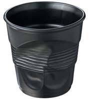 Kaffee Knitterbecher 12cl, aschgrau