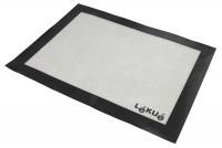 Backmatte Silikon weiss/schwarz, 40x30 cm