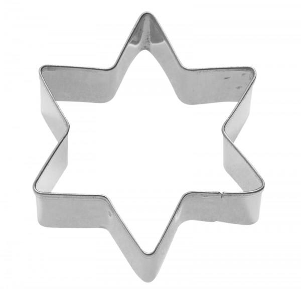 """3 Stk. Terrassen-Ausstechformen """"Stern"""", 4/5/6 cm"""