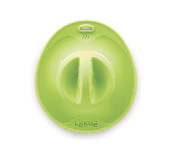 Silikondeckel, grün 21 cm