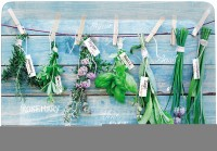 Hanging Herbs Tablett 31x23 cm