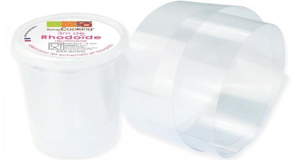 3m Band kunststoff für Desserts H 4 cm