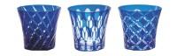 Twins Glas doppelwandig Dekor blau 2.7dl