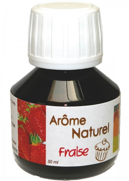 Natürliches Aroma Erdbeere 50 ml