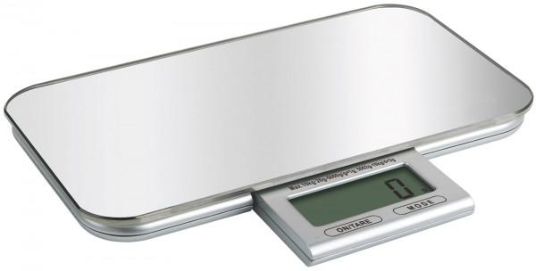 Küchenwaage digital Spiegel bis 10kg 23x13x2cm