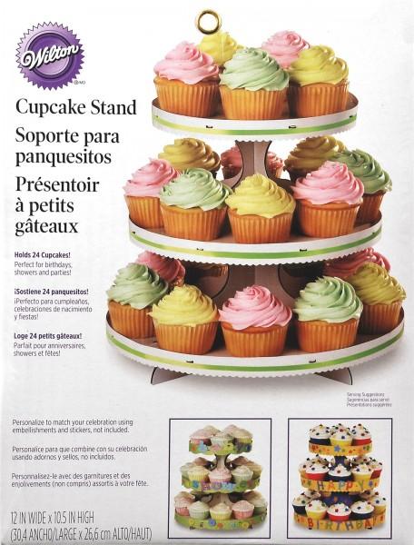 Cupcake Ständer weiss 27x30cm
