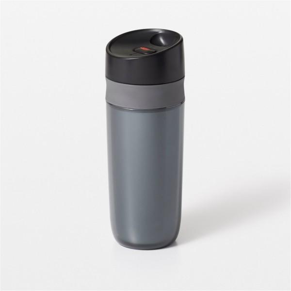 Travel Mug doppelwandig, graphite, 0.45 lt