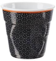 "Espresso Knitterbecher 8 cl, weiss/schwarz ""Melie"""