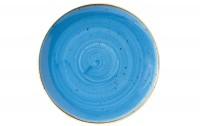 Stonecast Cornflower  Blau Teller coupe flach 21.7cm