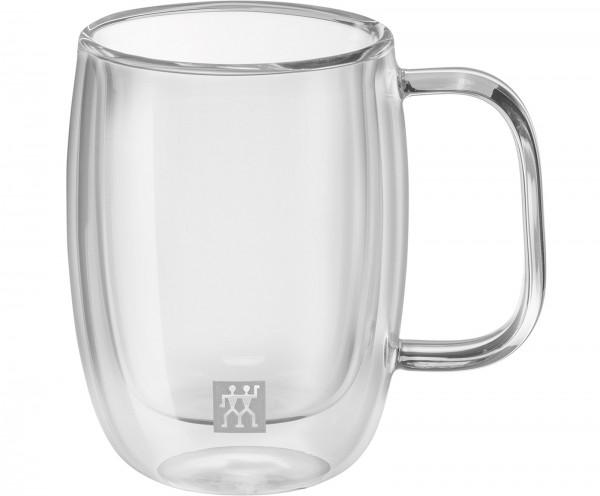 Sorrento Plus Espresso Dopio Glas m. Henkel, 2er Set, 134 ml
