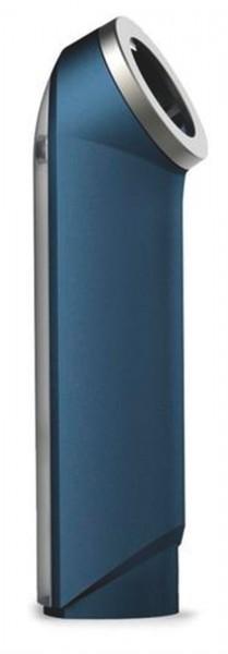 BarWise Flaschenöffner m. Auffangbehälter, blau, 4.5x4.5x16