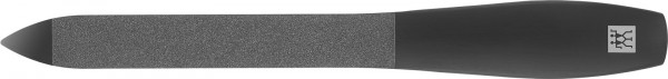 TWINOX M Saphir-Nagelfeile, 130mm, schwarz