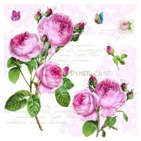 Romantic Roses Servietten 20 Stk. 33x33 cm