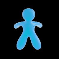 Duftmännchen Cesare fürs Auto blau OZEAN BREEZE