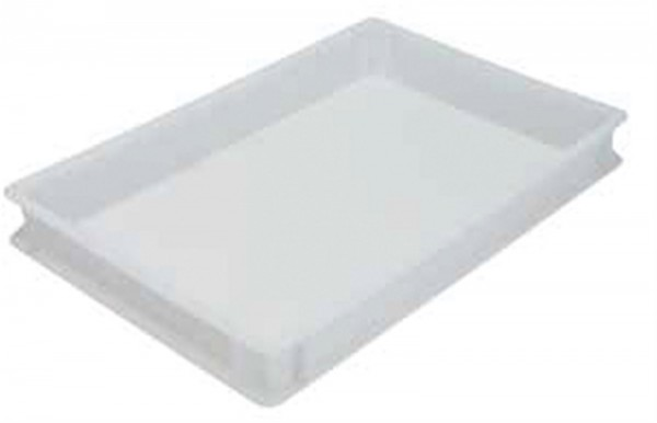 Teigbox 600x400x75mm ohne Griffe
