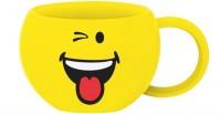Smiley Kaffeetasse, Emoticon Zwinkern 20cl