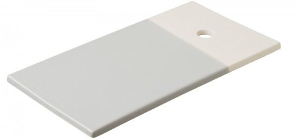 Color Lab Tablett rechteckig, 24.5x13x0.8 cm, grau