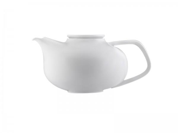 Fluen Teekanne mit Teesieb 1.20 lt. weiss