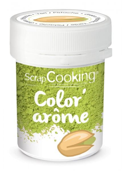Farbpulver Pistazie 10 g ( VKE 1x Dose )