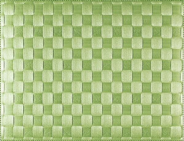 PP-Tischset gewebt, eckig, lime, 30x40 cm