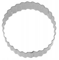 """3 Stk. Terrassen-Ausstechformen """"Ring gewellt"""", Ø 4/5/6 cm"""