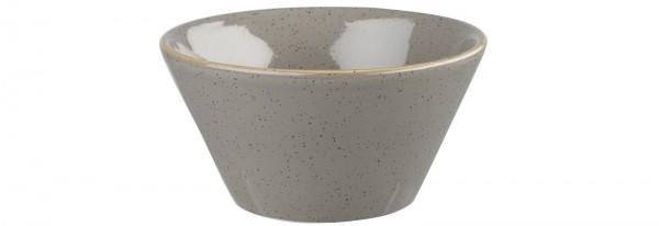 Stonecast Grau Schale 34cl, ø12.1cm H: 6.5cm