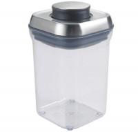 Steel Pop Container, quadratisch, 10.7x10.7x15.7 cm, 0.9 l