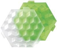Eiswürfel XL grün, 28x24.5x7.8 cm, 4 dl