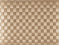 PP-Tischset gewebt, eckig, beige, 30x40 cm