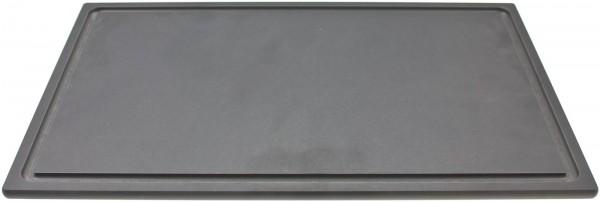 Schneidebrett mit Saftrille schwarz GN 1/1, 53x32.5cm