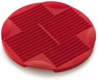 Backform für Stäbchen, rot, Ø26 cm