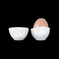 Eierbecher Set Och bitte / lecker