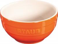 Keramik Schüssel, orange rund 0.7l / Ø14 cm