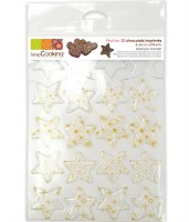 5x Schokoladenform Stern