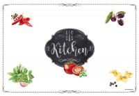 Kitchen Basics Tischset, 45x30 cm