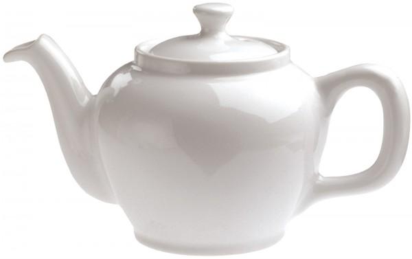 2x Teekanne, 45 cl, weiss