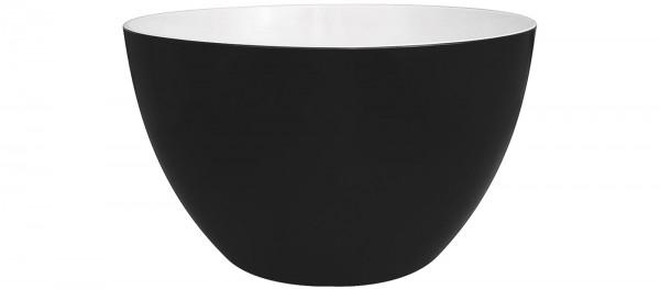 Duo Schüssel schwarz/weiss 18 cm