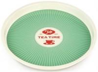 Tee Tablett, 31x2.6 cm, grün
