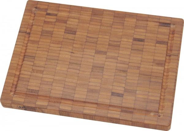 Schneidebrett, Bambus, klein 25x18.5x2 cm
