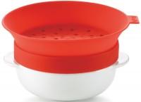 Oatmeal Kocher 6 dl, rot, 17.6x16.4x10 cm