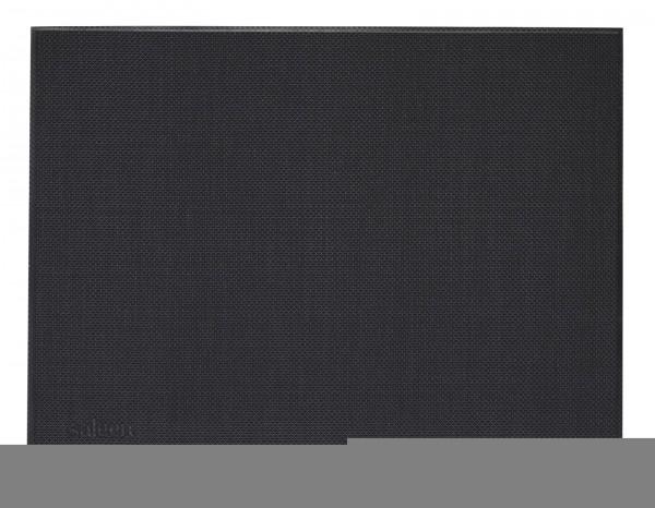"""Tischset """"Uni"""", eckig, schwarz, 32x42 cm"""