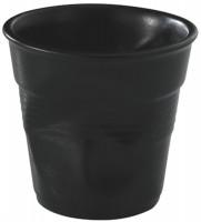 Cappuccino Knitterbecher 18 cl, schwarz