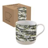 "Camouflage Porzellanbecher in GB ""Wald"", 375 ml"