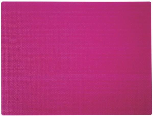 """PP-Tischset """"Coolorista"""", eckig, magenta, 45x32.5 cm"""