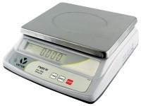 Tischwaage m. LCD Anzeige+Akku bis 30kg, Teilung 2g 23x30cm